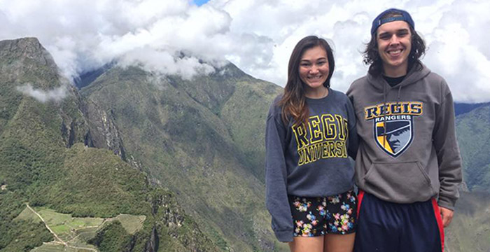students in peru during study abroad