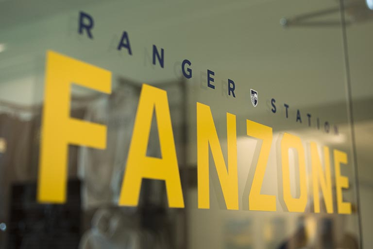 Ranger station fan zone image