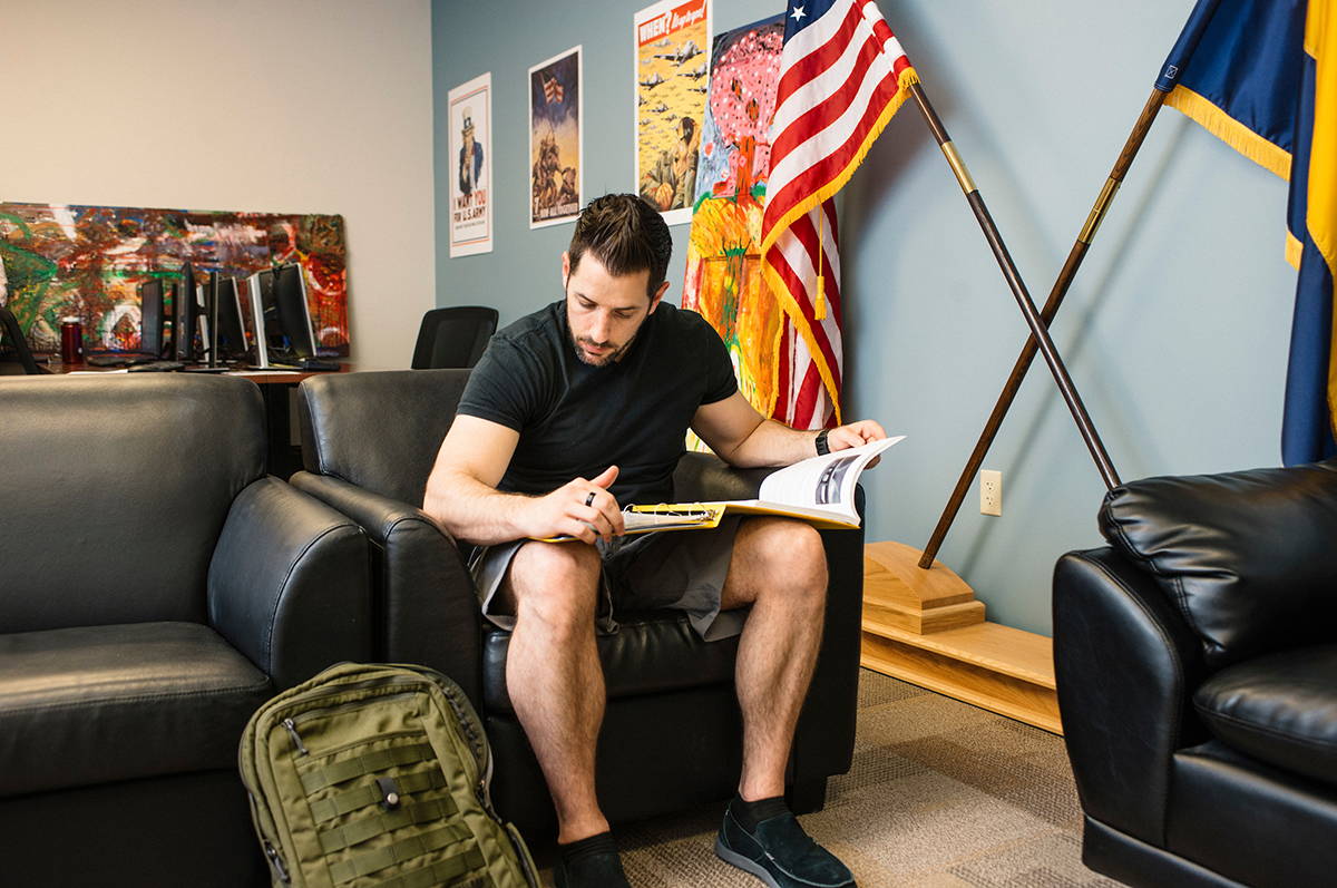 Veteran studies in The RegisMilitary and Veterans Resource Center at Regis University